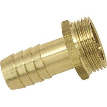 Embout BOUTTE cannelé cylindrique 30 mm / mâle 33x42 mm