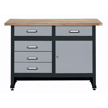 etabli armoire et am nagement de l 39 atelier outillage leroy merlin. Black Bedroom Furniture Sets. Home Design Ideas