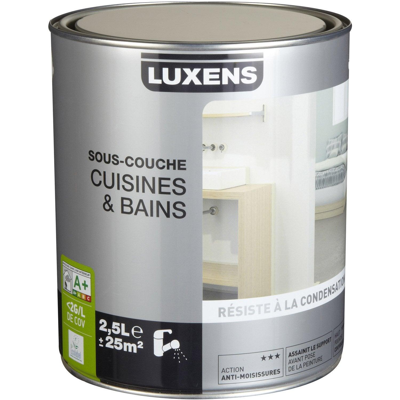 Sous couche cuisine et bain luxens 2 5 l leroy merlin - Sous couche salle de bain ...