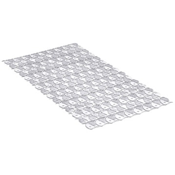 tapis antidrapant transparent pour baignoire fish - Tapis De Bain Antiderapant