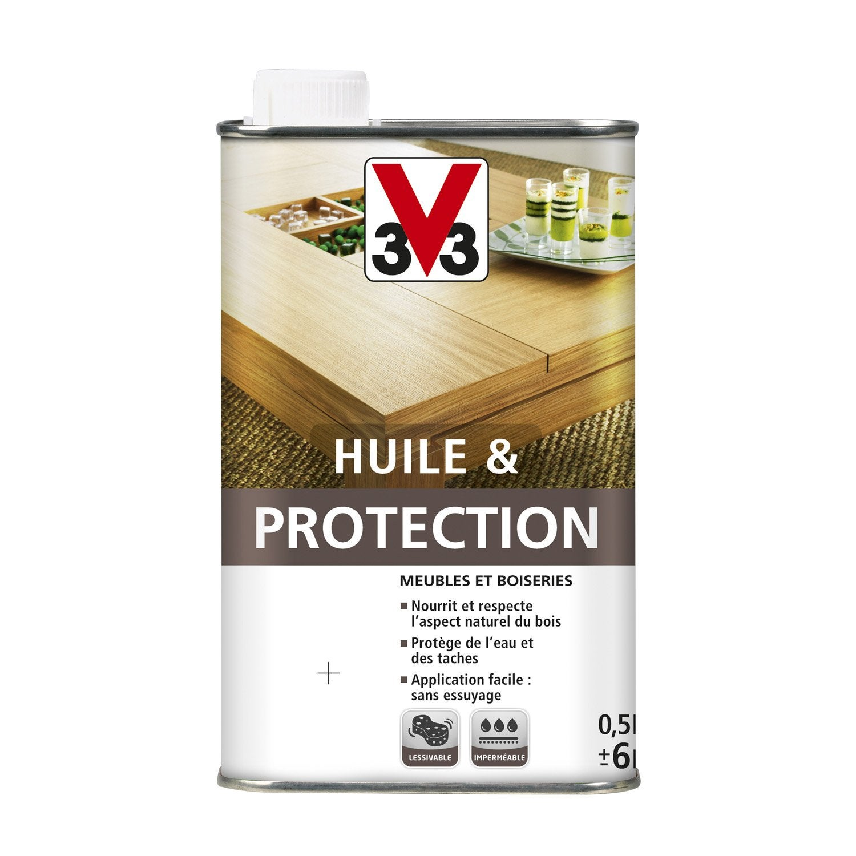 Delightful Huile Meuble Et Objets Huile Et Portection V33, 0.5 L, Wengé