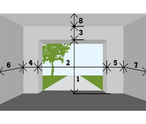 Baie vitre sur mesure leroy merlin simple elegant fenetre for Porte de garage a enroulement electrique sur mesure