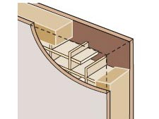 4 Structure Du0027une Porte Intérieure. Standard : Tous Usages