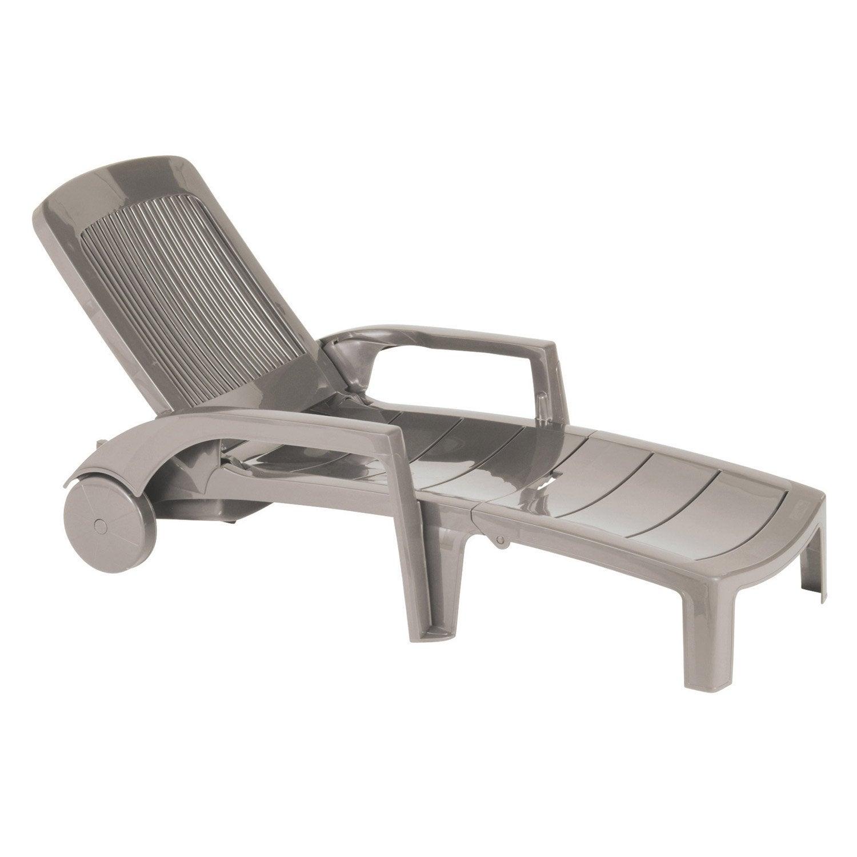 bain de soleil de jardin en r sine fidji lin leroy merlin. Black Bedroom Furniture Sets. Home Design Ideas