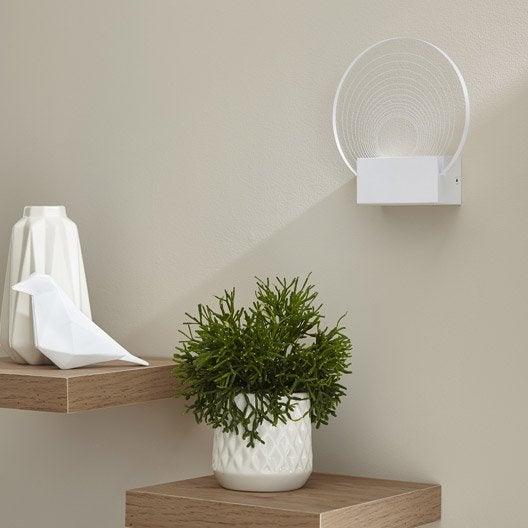 applique ispica 1 x 5 w acrylique transparent inspire. Black Bedroom Furniture Sets. Home Design Ideas