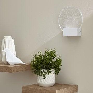 Applique design led intégrée Ispica acrylique Transparent, 1 INSPIRE