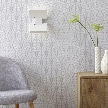 Applique, led intégrée Chain, 2 x 5 W, acrylique blanc, INSPIRE
