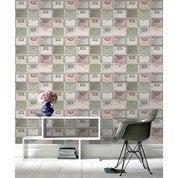 papier peint papier nichoirs multicouleur leroy merlin. Black Bedroom Furniture Sets. Home Design Ideas