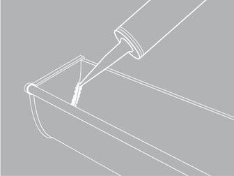 comment poser une goutti re en zinc leroy merlin. Black Bedroom Furniture Sets. Home Design Ideas