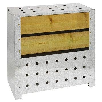 Composteur monobloc GUILLOUARD Bois marron 200 l