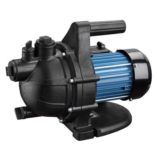 pompe arrosage manuelle, j600p 3000 l/h | leroy merlin