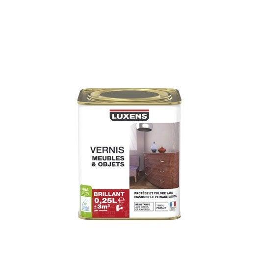 Finition meuble et objet peinture vernis cire huile pour meuble et objet - Vernis marin leroy merlin ...
