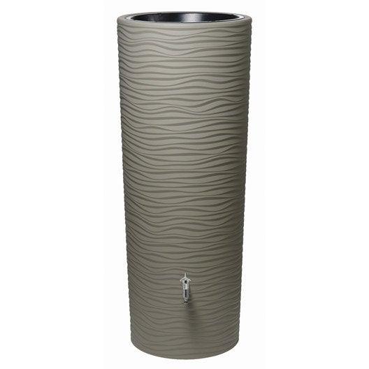 R cup rateur d 39 eau a rien garantia cylindrique sable 350 l leroy merlin - Recuperateur d eau enterre prix ...