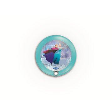 Objet lumineux, led intégrée Reine des neiges PHILIPS, multicolore, 0.3 W
