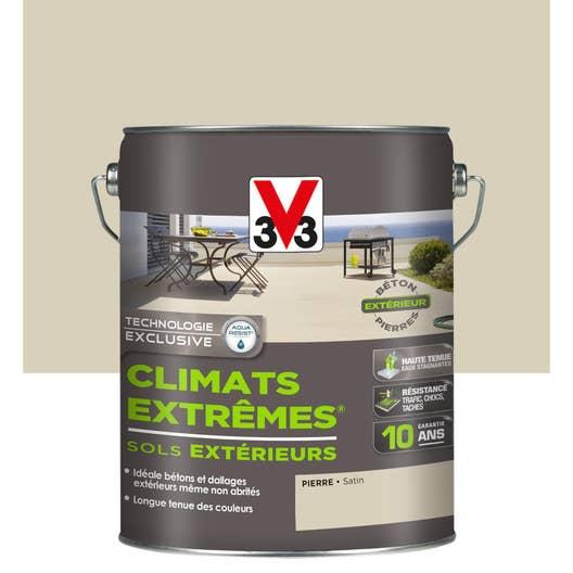 peinture sol extrieur climats extrmes v33 pierre 5l