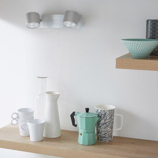 spot leroy merlin led rampe spots led intgre led blanc. Black Bedroom Furniture Sets. Home Design Ideas