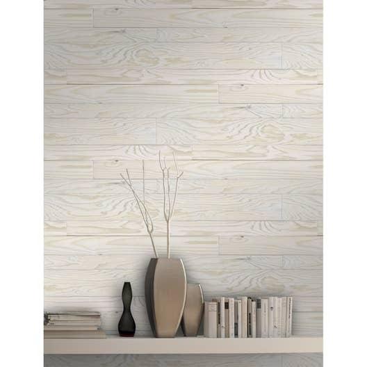 papier peint intiss bois fum blanc leroy merlin. Black Bedroom Furniture Sets. Home Design Ideas