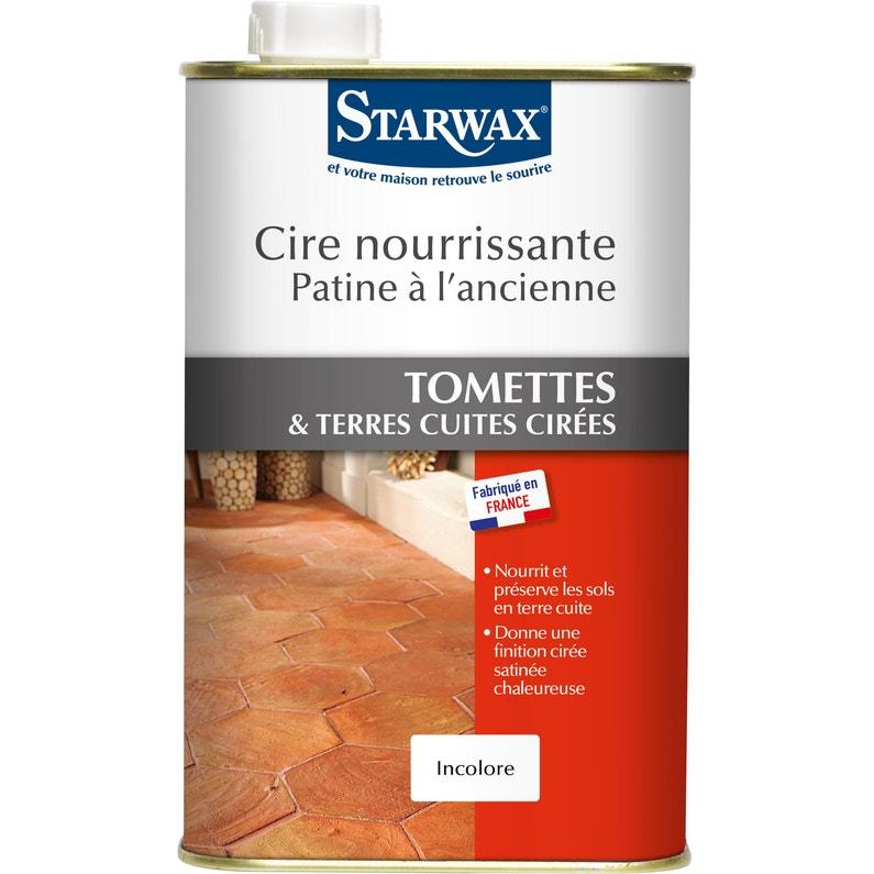 Cire Tomette Rouge Starwax 1 L