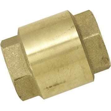 Clapet anti-retour en laiton BOUTTE femelle Diam.20 x 27 mm