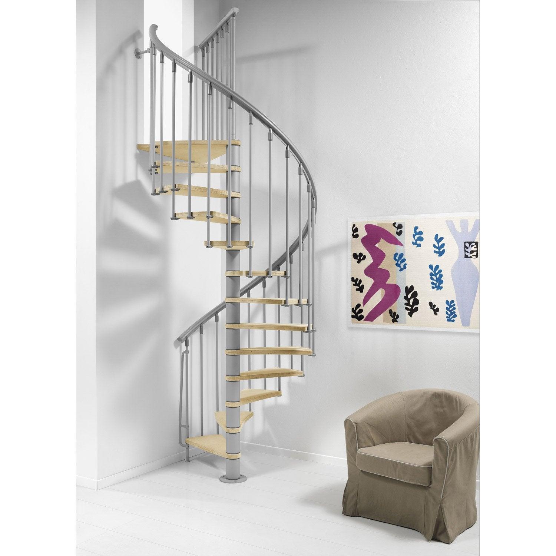 escalier colima on rond nice structure m tal marche bois. Black Bedroom Furniture Sets. Home Design Ideas