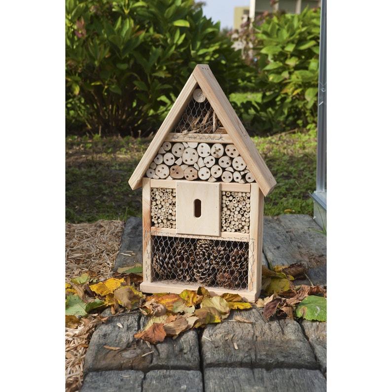Hôtel à insectes 617123 bois | Leroy Merlin