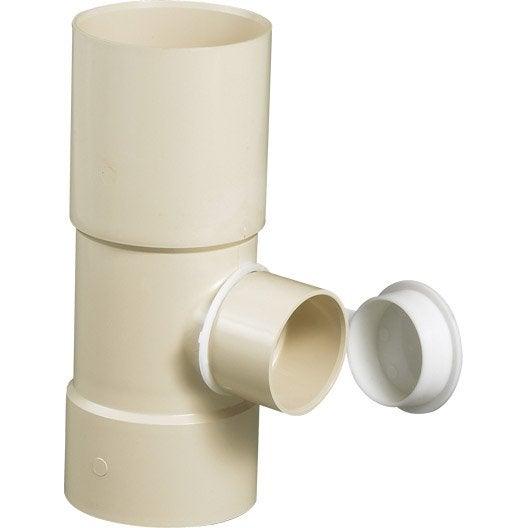 collecteur d'eau pvc sable girpi, dév.25 cm diam.80 mm | leroy merlin