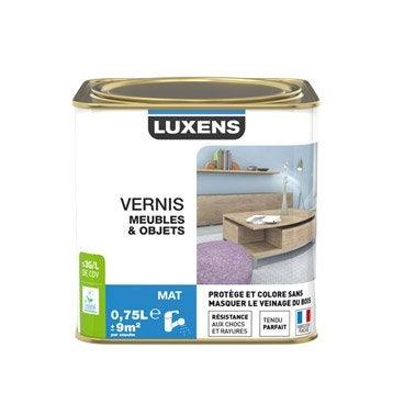 Vernis meuble et objets Vernis meubles et objets LUXENS, 0.75 l, incolore