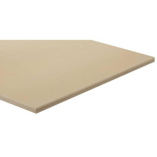 panneau fibre composite teint masse naturel mm x l. Black Bedroom Furniture Sets. Home Design Ideas