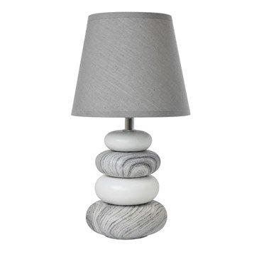 Lampe lampe sur pied poser leroy merlin - Fabriquer une lampe de chevet en bois ...