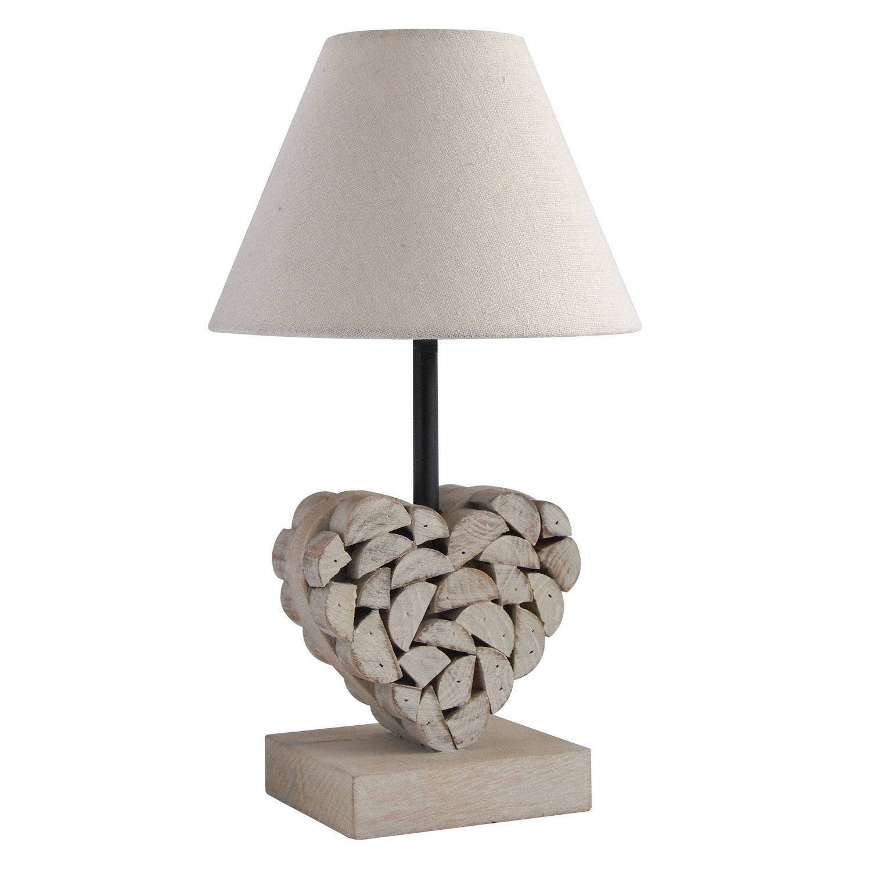 lampe e27 carlita seynave coton naturel 40 w leroy merlin. Black Bedroom Furniture Sets. Home Design Ideas