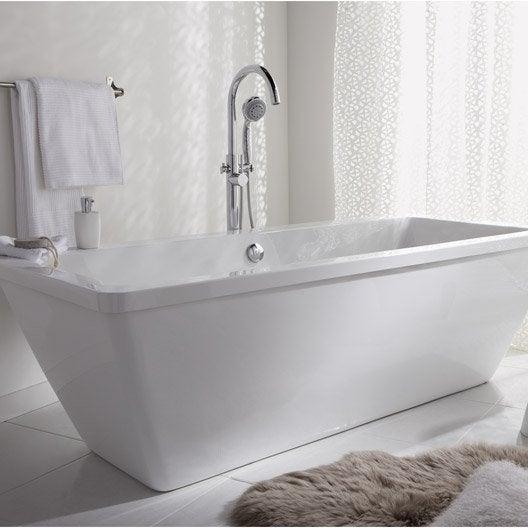 baignoire îlot - salle de bains | leroy merlin - Salle De Bain Baignoire Ilot