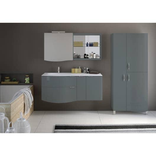 Meuble de salle de bains de 100 à 119, vert, Elegance | Leroy Merlin