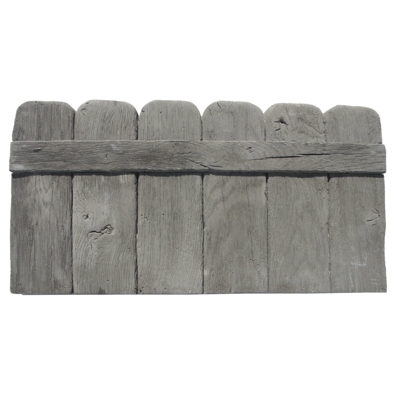 bordure droite alp ge en pierre reconstitu e grise x. Black Bedroom Furniture Sets. Home Design Ideas