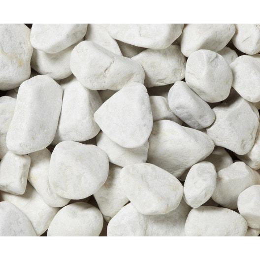 galets en marbre mat blanc 30 50 mm 25 kg leroy merlin. Black Bedroom Furniture Sets. Home Design Ideas