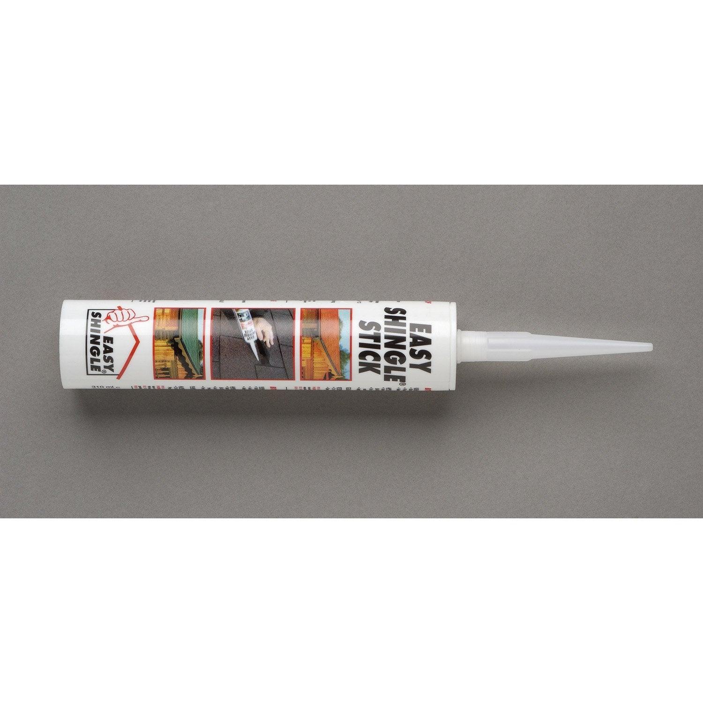 colle pour easy shingle cartouche de 310 ml gris colle. Black Bedroom Furniture Sets. Home Design Ideas