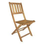 Lot de 2 chaises de jardin en bois Porto porto