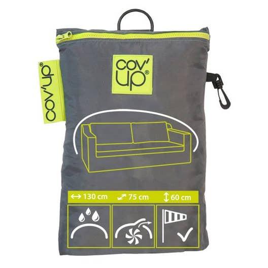 housse de canapé imperméable Housse de protection pour canapé COV'UP L.130 x l.75 x H.60 cm  housse de canapé imperméable
