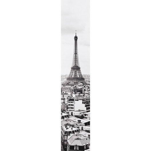 lé unique duplex tour eiffel, gris, l.50 x l.260 cm | leroy merlin