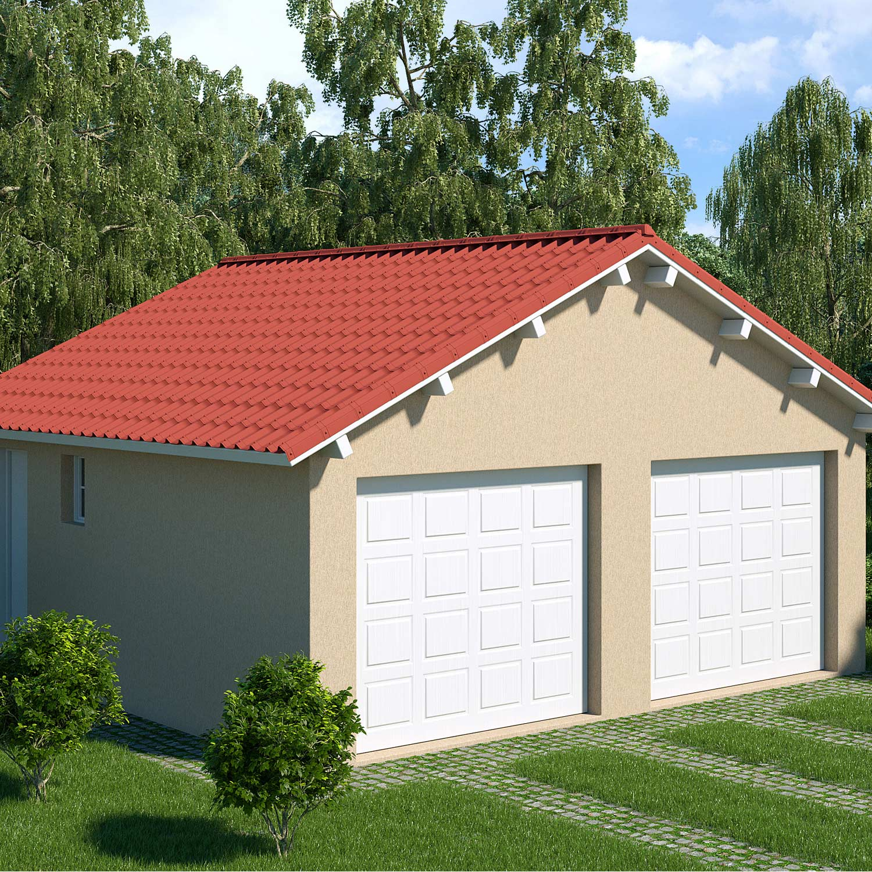 Plaque de toiture imitation tuile bitume rouge l.0.4 x L.1 ...