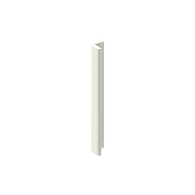 Cornière De Toiture Pvc Cellulaire 25x25 Mm Blanc Pvc