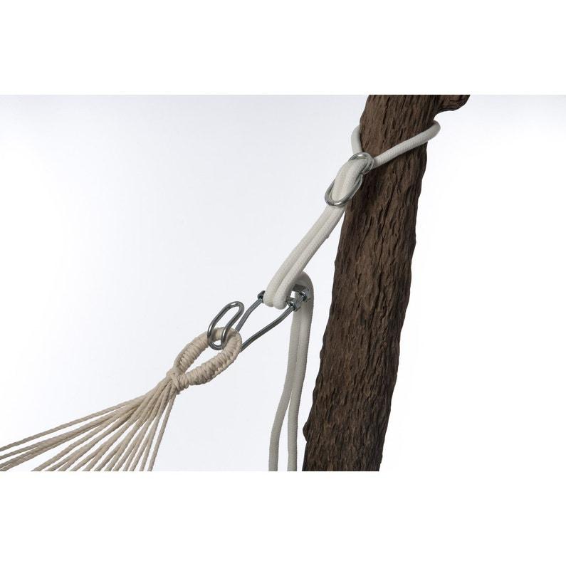 Kit Accroche Pour Hamac Rope Pro Jobek Acier Leroy Merlin