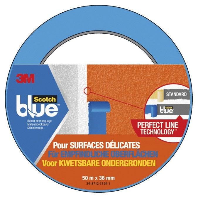 Les géants des airs : Northrop YB-49 [Italeri 1/72] - Page 3 Adhesif-scotch-blue-masquage-une-face-surfaces-delicates-l-50-m-x-l-36-mm-bleu