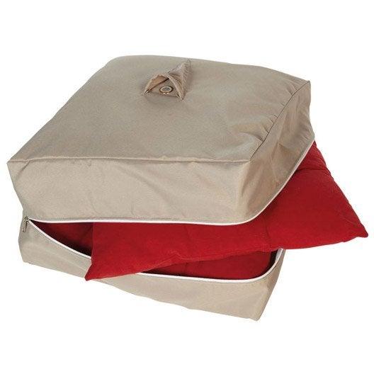 Housse de protection pour galette de chaise innov axe - Housse galette de chaise ...