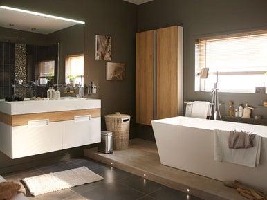 tout savoir pour concevoir une salle de bains facile vivre leroy merlin. Black Bedroom Furniture Sets. Home Design Ideas
