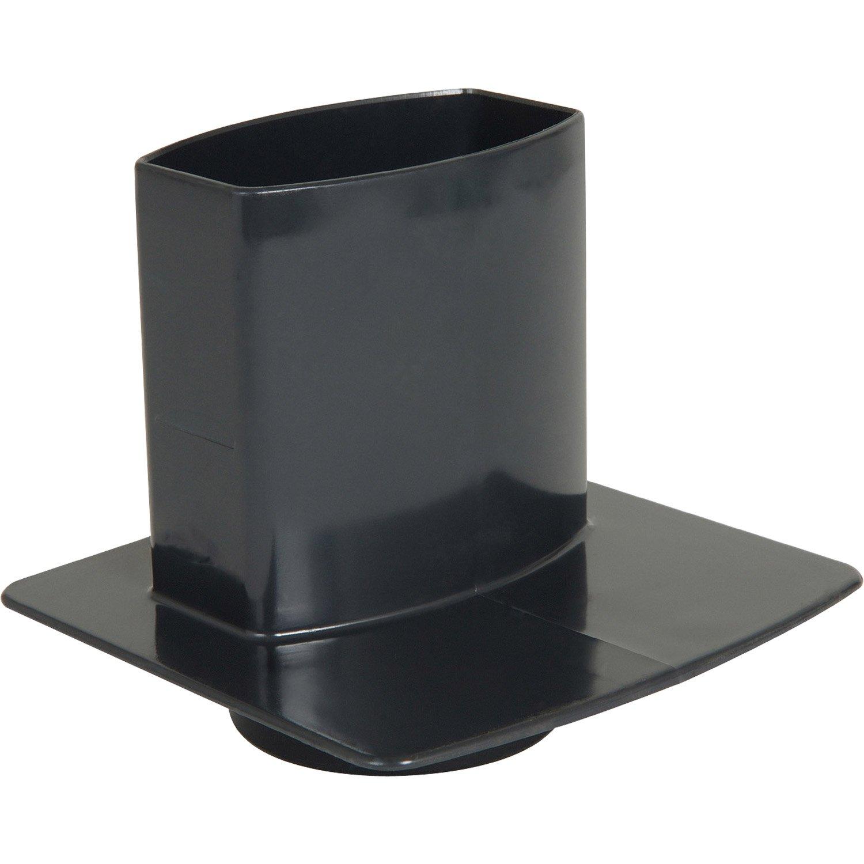pied de chute pvc leroy merlin. Black Bedroom Furniture Sets. Home Design Ideas