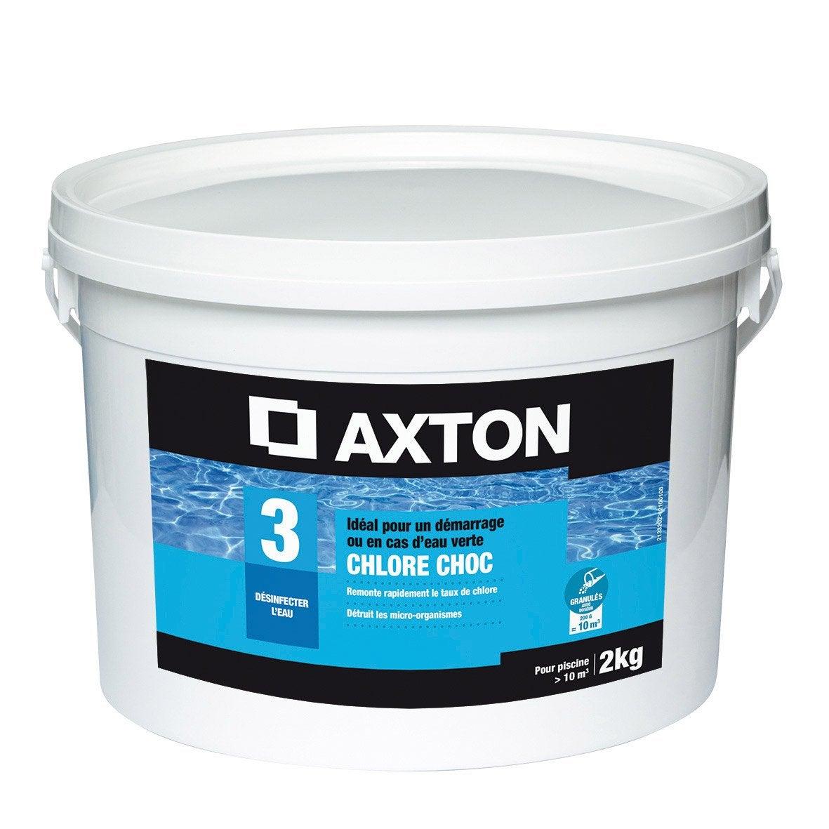chlore choc piscine axton granul 2 kg leroy merlin. Black Bedroom Furniture Sets. Home Design Ideas