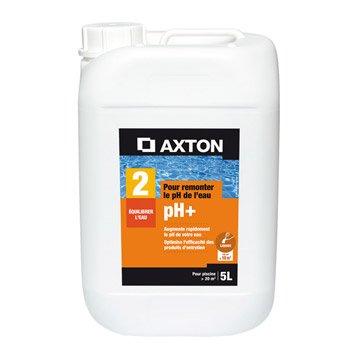 Rehausseur de ph piscine AXTON, liquide 5 l 5 kg