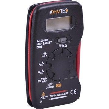 Multimètre OHMTEC, 300 V