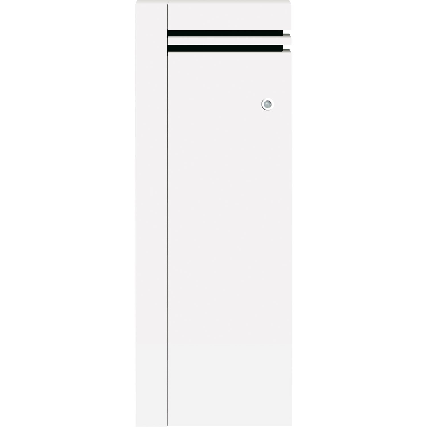 radiateur lectrique connect inertie fonte airelec naomi vertical 1500 w leroy merlin. Black Bedroom Furniture Sets. Home Design Ideas