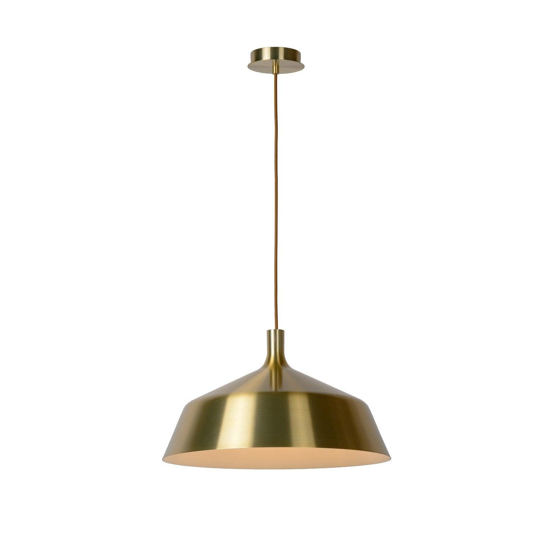 Suspension, e27 moderne Bowi métal doré 1 x 60 W LUCIDE